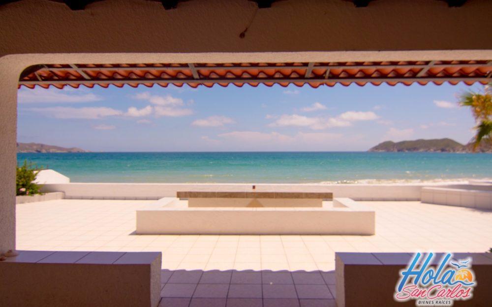 Casa Frente al mar en renta en San carlos, costa del mar