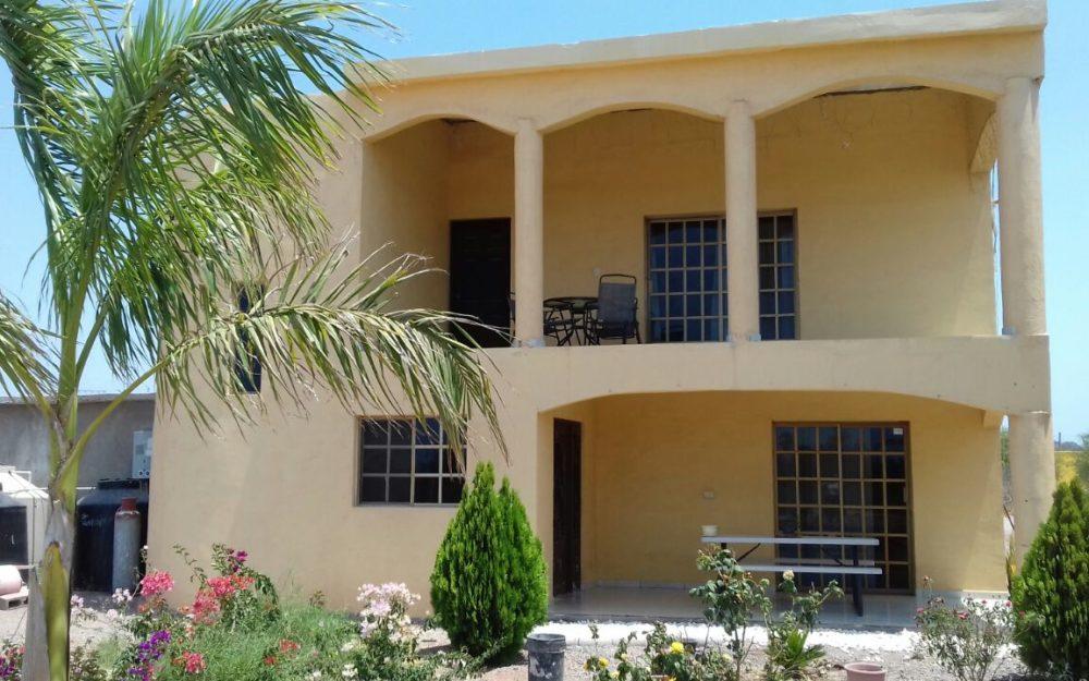 Casa en renta en San Carlos, Estilo campestre.