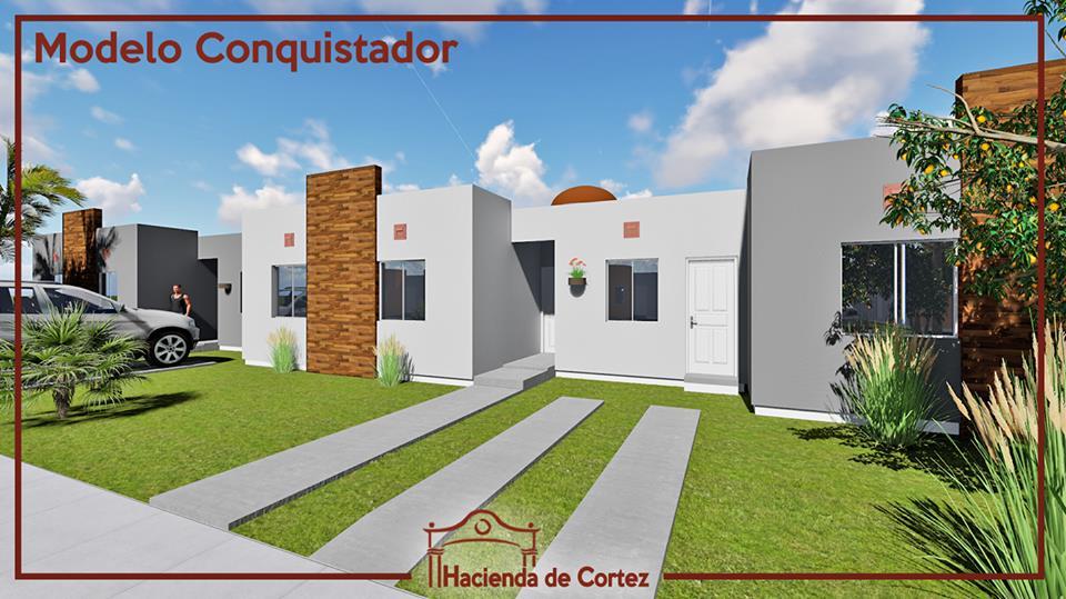 Casa por estrenar a la venta en San Carlos, Hacienda de Cortez.