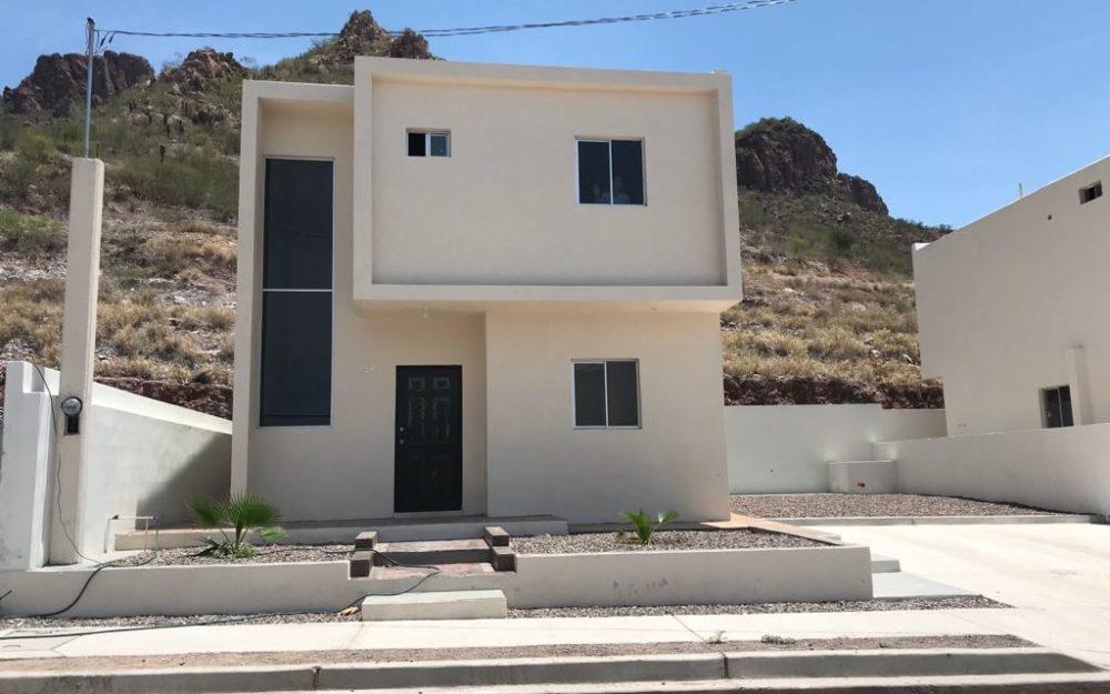 Casas nuevas a la venta en Guaymas, Fraccionamiento el cielo
