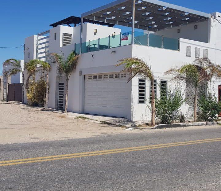 Casa en venta con vista al mar, Bahía de Kino.