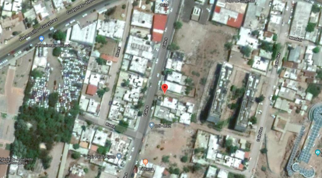 Terreno a la venta en Guaymas, Centro