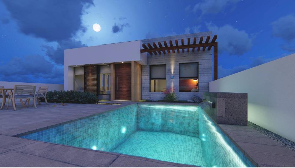 Casa en venta con alberca privada en San Carlos, Biznaga Residencial