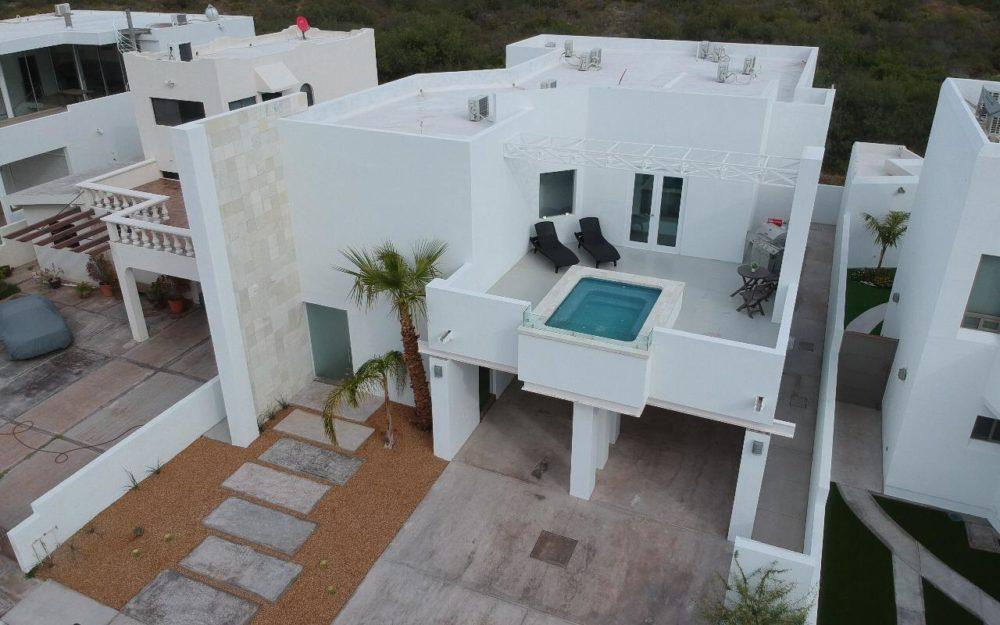 Casa en renta a unos pasos de la playa con alberca privada, San Carlos Costa de mar