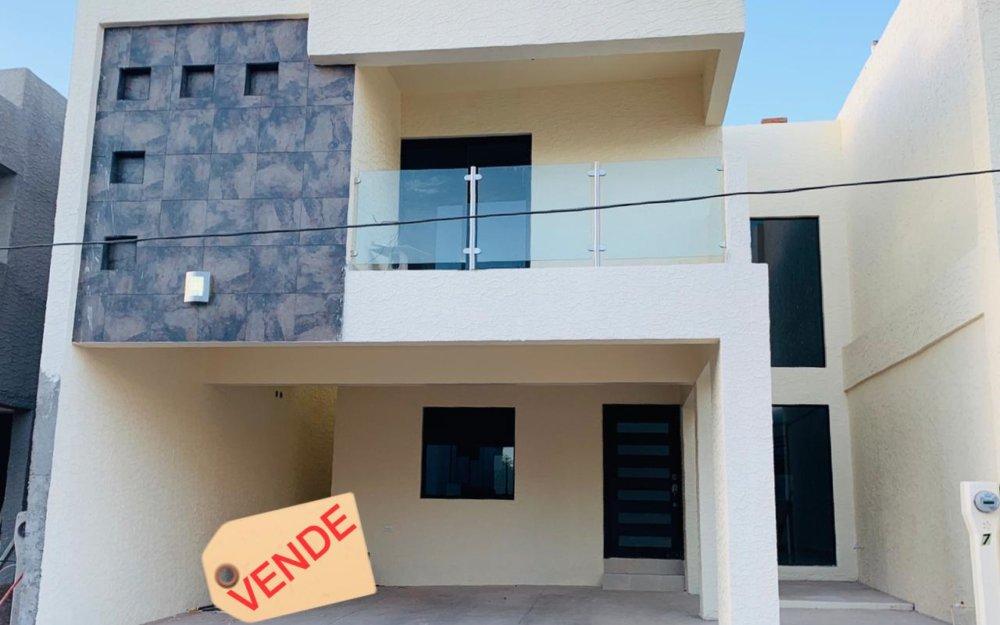 Casa nueva a la venta de 3 recamaras, Guaymas Sonora