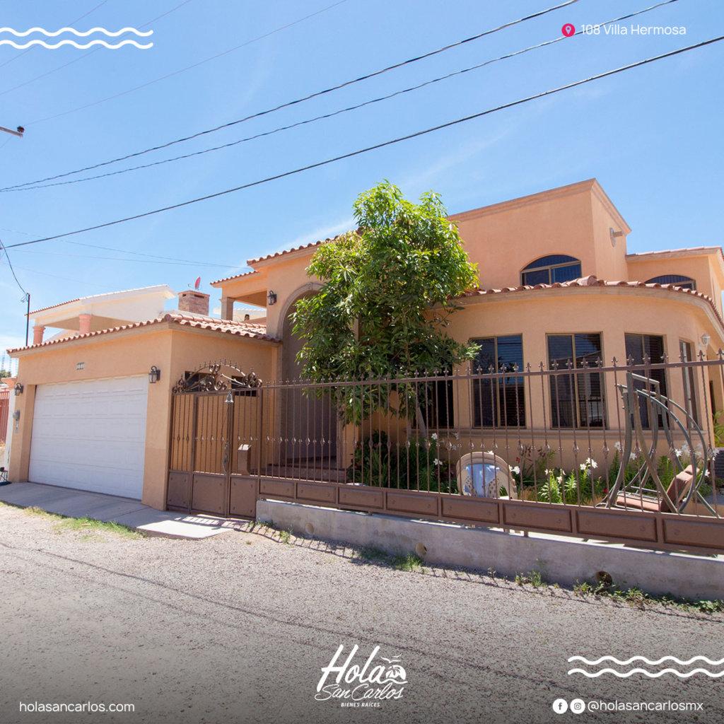Casa en venta de 5 recamaras En san carlos, Zona residencial villa hermosa