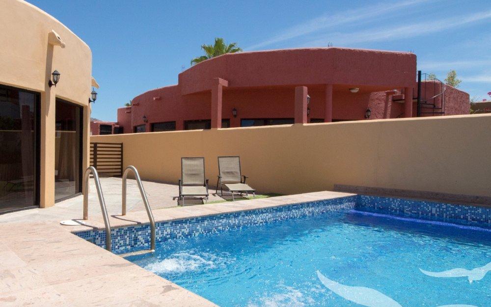 Casa en renta con alberca privada Costa del mar San Carlos