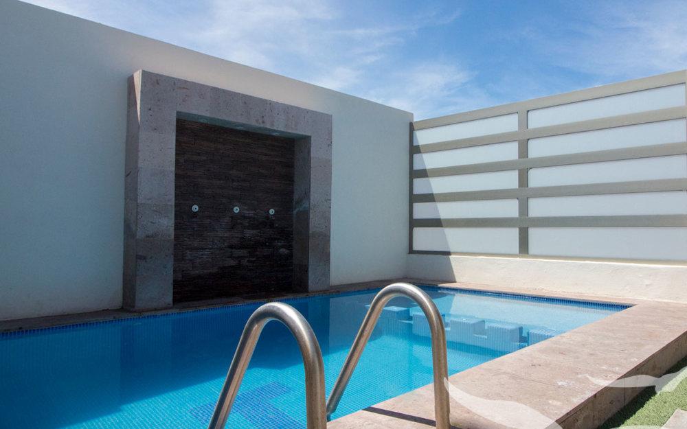 Casa en renta en san carlos con alberca privada de 4 recamaras