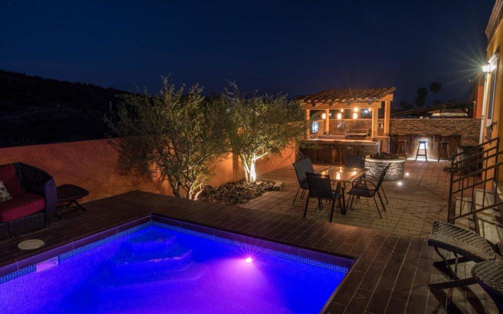 Casa en renta con alberca privada en San Carlos Villa Mexicana