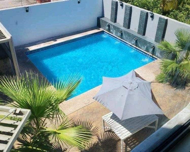 Casa en renta con  alberca privada en San Carlos Country club, Diamante 79