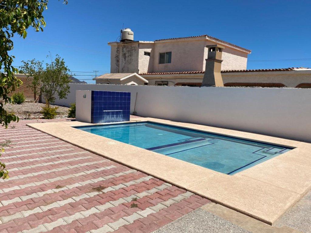 Casa en renta con alberca privada En San Carlos. Ranchitos !